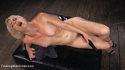 Photo number 15 from Sexy Blonde Cougar Gets Machine Fucked shot for Fucking Machines on Kink.com. Featuring Helena Locke in hardcore BDSM & Fetish porn.