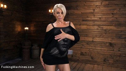 Photo number 16 from Sexy Blonde Cougar Gets Machine Fucked shot for Fucking Machines on Kink.com. Featuring Helena Locke in hardcore BDSM & Fetish porn.
