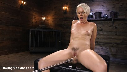 Photo number 8 from Sexy Blonde Cougar Gets Machine Fucked shot for Fucking Machines on Kink.com. Featuring Helena Locke in hardcore BDSM & Fetish porn.