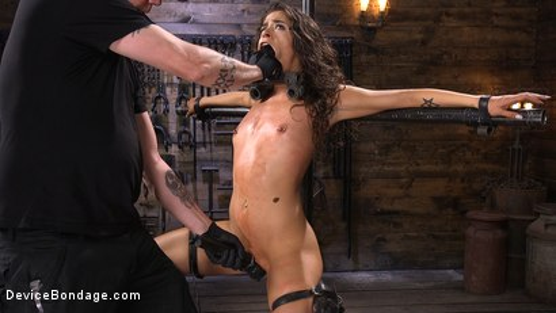 Photo number 6 from Seductive Slut Victoria Voxxx Needs It All shot for Device Bondage on Kink.com. Featuring Victoria Voxxx in hardcore BDSM & Fetish porn.