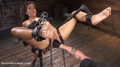 Photo number 13 from Seductive Slut Victoria Voxxx Needs It All shot for Device Bondage on Kink.com. Featuring Victoria Voxxx in hardcore BDSM & Fetish porn.