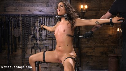 Photo number 4 from Seductive Slut Victoria Voxxx Needs It All shot for Device Bondage on Kink.com. Featuring Victoria Voxxx in hardcore BDSM & Fetish porn.