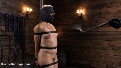 Photo number 3 from Sexy Blonde Cougar is Destroyed in Device Bondage shot for Device Bondage on Kink.com. Featuring Helena Locke in hardcore BDSM & Fetish porn.