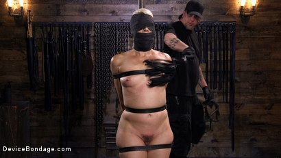Photo number 4 from Sexy Blonde Cougar is Destroyed in Device Bondage shot for Device Bondage on Kink.com. Featuring Helena Locke in hardcore BDSM & Fetish porn.