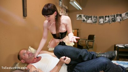 Photo number 4 from The Mars Obsession: Natalie Mars Invades D Arclyte's Dreams shot for TS Seduction on Kink.com. Featuring Natalie Mars  and D. Arclyte in hardcore BDSM & Fetish porn.