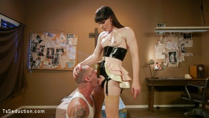 Photo number 6 from The Mars Obsession: Natalie Mars Invades D Arclyte's Dreams shot for TS Seduction on Kink.com. Featuring Natalie Mars  and D. Arclyte in hardcore BDSM & Fetish porn.