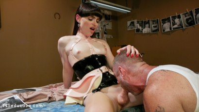 Photo number 10 from The Mars Obsession: Natalie Mars Invades D Arclyte's Dreams shot for TS Seduction on Kink.com. Featuring Natalie Mars  and D. Arclyte in hardcore BDSM & Fetish porn.
