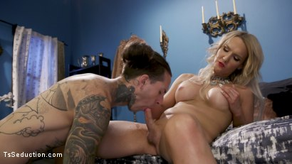 Photo number 1 from Paparazzi Down: Kayleigh Coxx Teaches A Hard Lesson To Ruckus shot for TS Seduction on Kink.com. Featuring Kayleigh Coxx and Ruckus in hardcore BDSM & Fetish porn.