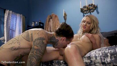 Photo number 11 from Paparazzi Down: Kayleigh Coxx Teaches A Hard Lesson To Ruckus shot for TS Seduction on Kink.com. Featuring Kayleigh Coxx and Ruckus in hardcore BDSM & Fetish porn.