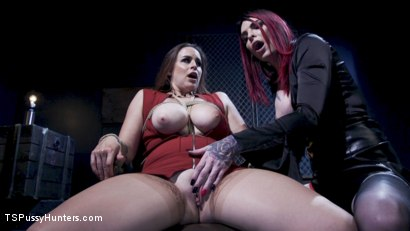 Photo number 13 from Office Thieves shot for TS Pussy Hunters on Kink.com. Featuring Chelsea Marie and Bella Rossi in hardcore BDSM & Fetish porn.