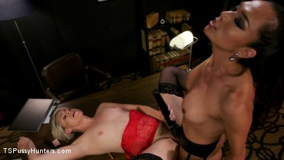 Photo number 18 from Firm Appreciation: Helena Locke Thanks Jessica Fox with Sexual Favors shot for TS Pussy Hunters on Kink.com. Featuring Jessica Fox and Helena Locke in hardcore BDSM & Fetish porn.