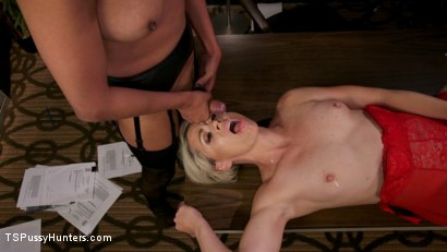 Photo number 21 from Firm Appreciation: Helena Locke Thanks Jessica Fox with Sexual Favors shot for TS Pussy Hunters on Kink.com. Featuring Jessica Fox and Helena Locke in hardcore BDSM & Fetish porn.