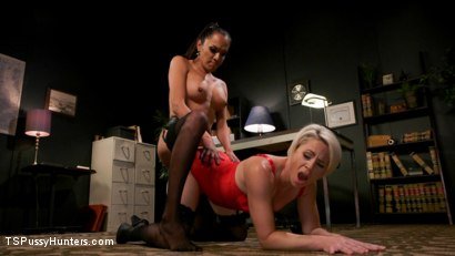 Photo number 10 from Firm Appreciation: Helena Locke Thanks Jessica Fox with Sexual Favors shot for TS Pussy Hunters on Kink.com. Featuring Jessica Fox and Helena Locke in hardcore BDSM & Fetish porn.
