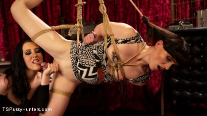 Photo number 12 from Booty Calls Episode 3: Natalie Mars and Cherry Torn's Kinky Flip Fuck shot for TS Pussy Hunters on Kink.com. Featuring Natalie Mars  and Cherry Torn in hardcore BDSM & Fetish porn.