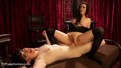 Photo number 3 from Booty Calls Episode 3: Natalie Mars and Cherry Torn's Kinky Flip Fuck shot for TS Pussy Hunters on Kink.com. Featuring Natalie Mars  and Cherry Torn in hardcore BDSM & Fetish porn.