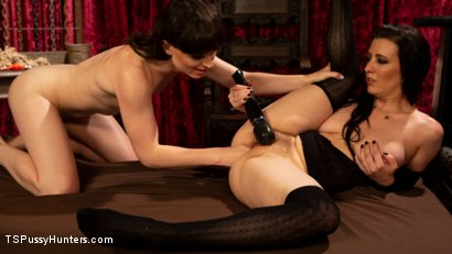 Photo number 2 from Booty Calls Episode 3: Natalie Mars and Cherry Torn's Kinky Flip Fuck shot for TS Pussy Hunters on Kink.com. Featuring Natalie Mars  and Cherry Torn in hardcore BDSM & Fetish porn.