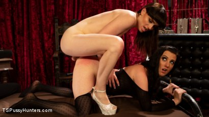 Photo number 7 from Booty Calls Episode 3: Natalie Mars and Cherry Torn's Kinky Flip Fuck shot for TS Pussy Hunters on Kink.com. Featuring Natalie Mars  and Cherry Torn in hardcore BDSM & Fetish porn.