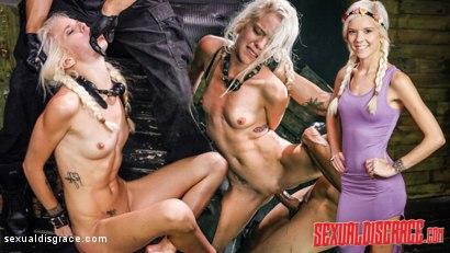 Halle Von Sexual Disgrace Spanked Stupid
