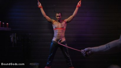 Photo number 11 from  Buck Wright Bound and Beaten   shot for Bound Gods on Kink.com. Featuring Sebastian Keys and Buck Wright in hardcore BDSM & Fetish porn.