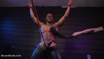 Photo number 15 from  Buck Wright Bound and Beaten   shot for Bound Gods on Kink.com. Featuring Sebastian Keys and Buck Wright in hardcore BDSM & Fetish porn.