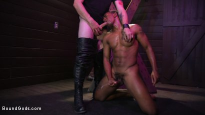 Photo number 35 from  Buck Wright Bound and Beaten   shot for Bound Gods on Kink.com. Featuring Sebastian Keys and Buck Wright in hardcore BDSM & Fetish porn.