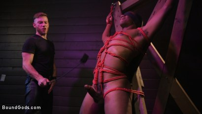 Photo number 20 from  Buck Wright Bound and Beaten   shot for Bound Gods on Kink.com. Featuring Sebastian Keys and Buck Wright in hardcore BDSM & Fetish porn.