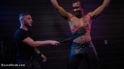 Photo number 4 from  Buck Wright Bound and Beaten   shot for Bound Gods on Kink.com. Featuring Sebastian Keys and Buck Wright in hardcore BDSM & Fetish porn.
