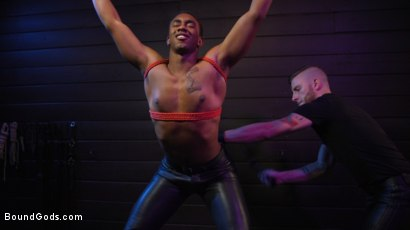 Photo number 6 from  Buck Wright Bound and Beaten   shot for Bound Gods on Kink.com. Featuring Sebastian Keys and Buck Wright in hardcore BDSM & Fetish porn.