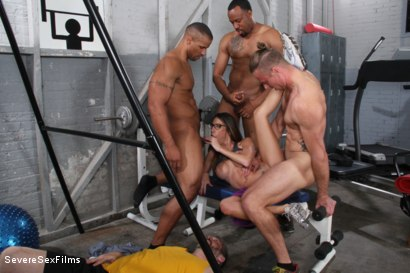 Photo number 14 from Cuckold Watches Wife get Gangbanged shot for Severe Sex Films on Kink.com. Featuring Dava Foxx, Jimmy Broadway, Jovan Jordan, Steve Rodgers and Robert Axel in hardcore BDSM & Fetish porn.