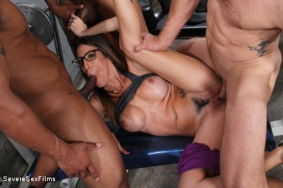 Photo number 15 from Cuckold Watches Wife get Gangbanged shot for Severe Sex Films on Kink.com. Featuring Dava Foxx, Jimmy Broadway, Jovan Jordan, Steve Rodgers and Robert Axel in hardcore BDSM & Fetish porn.