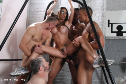 Photo number 7 from Cuckold Watches Wife get Gangbanged shot for Severe Sex Films on Kink.com. Featuring Dava Foxx, Jimmy Broadway, Jovan Jordan, Steve Rodgers and Robert Axel in hardcore BDSM & Fetish porn.