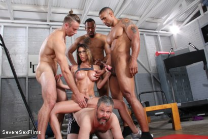 Photo number 10 from Cuckold Watches Wife get Gangbanged shot for Severe Sex Films on Kink.com. Featuring Dava Foxx, Jimmy Broadway, Jovan Jordan, Steve Rodgers and Robert Axel in hardcore BDSM & Fetish porn.
