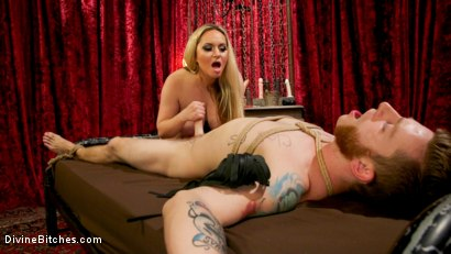Photo number 12 from Lonely for your pain: Aiden Starr dominates partner Sebastian Keys shot for Divine Bitches on Kink.com. Featuring Aiden Starr and Sebastian Keys in hardcore BDSM & Fetish porn.