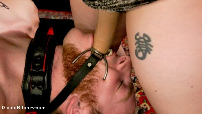 Photo number 6 from Lonely for your pain: Aiden Starr dominates partner Sebastian Keys shot for Divine Bitches on Kink.com. Featuring Aiden Starr and Sebastian Keys in hardcore BDSM & Fetish porn.
