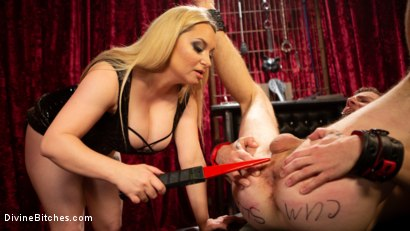 Photo number 16 from Lonely for your pain: Aiden Starr dominates partner Sebastian Keys shot for Divine Bitches on Kink.com. Featuring Aiden Starr and Sebastian Keys in hardcore BDSM & Fetish porn.