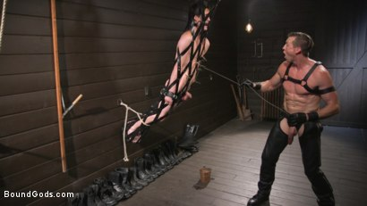 Photo number 24 from Pierce Paris Manhandles Tony Orlando  shot for Bound Gods on Kink.com. Featuring Pierce Paris and Tony Orlando in hardcore BDSM & Fetish porn.