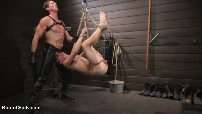Photo number 28 from Pierce Paris Manhandles Tony Orlando  shot for Bound Gods on Kink.com. Featuring Pierce Paris and Tony Orlando in hardcore BDSM & Fetish porn.