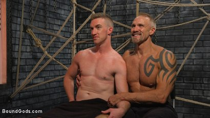 Photo number 13 from New To KinkMen Nick Fitt Gets Dominated and Fucked by Dallas Steele shot for Bound Gods on Kink.com. Featuring Dallas Steele and Nick Fitt in hardcore BDSM & Fetish porn.