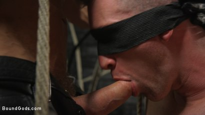 Photo number 8 from New To KinkMen Nick Fitt Gets Dominated and Fucked by Dallas Steele shot for Bound Gods on Kink.com. Featuring Dallas Steele and Nick Fitt in hardcore BDSM & Fetish porn.