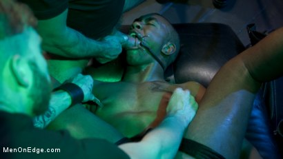 Photo number 3 from Buck Wright Quivers on Edge! shot for Men On Edge on Kink.com. Featuring Buck Wright in hardcore BDSM & Fetish porn.