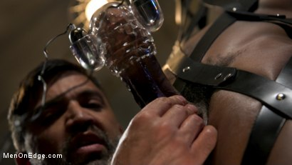 Photo number 4 from Buck Wright Quivers on Edge! shot for Men On Edge on Kink.com. Featuring Buck Wright in hardcore BDSM & Fetish porn.