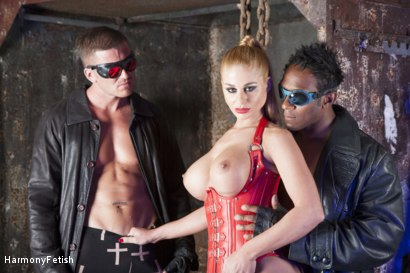 Photo number 16 from Hell's Bitch shot for Harmony Fetish on Kink.com. Featuring Marc Rose, Omar and Cathy Heaven in hardcore BDSM & Fetish porn.