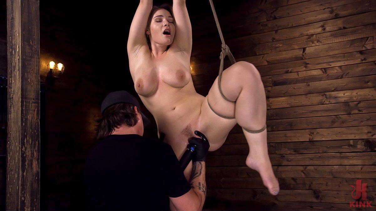 Photo number 2 from Making Bondage Dreams Cum True shot for Hogtied on Kink.com. Featuring Hadley Viscara in hardcore BDSM & Fetish porn.