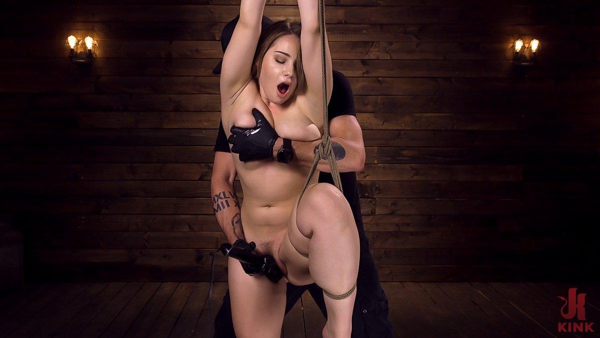 Photo number 11 from Making Bondage Dreams Cum True shot for Hogtied on Kink.com. Featuring Hadley Viscara in hardcore BDSM & Fetish porn.