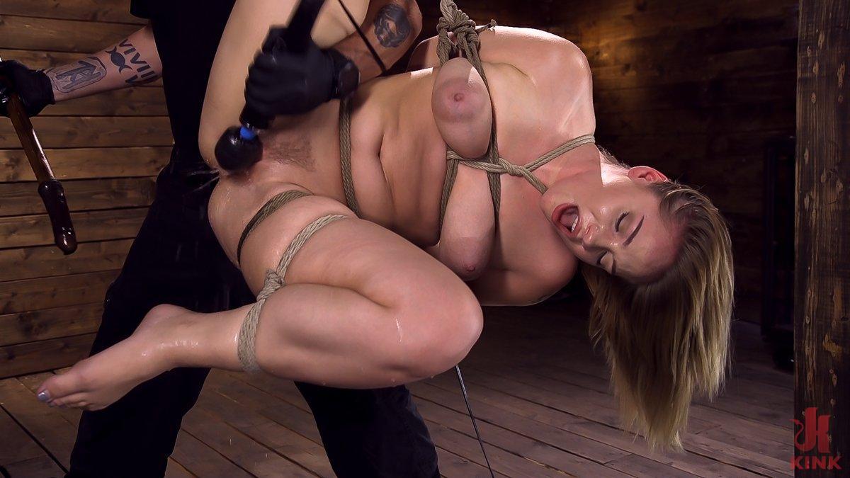 Photo number 13 from Making Bondage Dreams Cum True shot for Hogtied on Kink.com. Featuring Hadley Viscara in hardcore BDSM & Fetish porn.