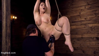 Photo number 2 from Making Bondage Dreams Cum True shot for Hogtied on Kink.com. Featuring Hadley Viscara in hardcore BDSM & Fetish porn.