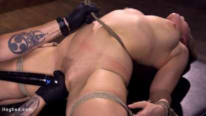 Photo number 10 from Making Bondage Dreams Cum True shot for Hogtied on Kink.com. Featuring Hadley Viscara in hardcore BDSM & Fetish porn.
