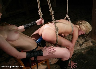 Photo number 13 from Alexa Lynn and Kayla Paige shot for Whipped Ass on Kink.com. Featuring Alexa Lynn and Kayla Paige in hardcore BDSM & Fetish porn.