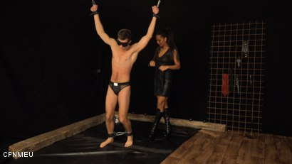 Photo number 1 from Personal Slave shot for cfnmeu on Kink.com. Featuring Alan Carly and Isabella Chrystin in hardcore BDSM & Fetish porn.