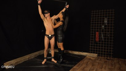 Photo number 2 from Personal Slave shot for cfnmeu on Kink.com. Featuring Alan Carly and Isabella Chrystin in hardcore BDSM & Fetish porn.